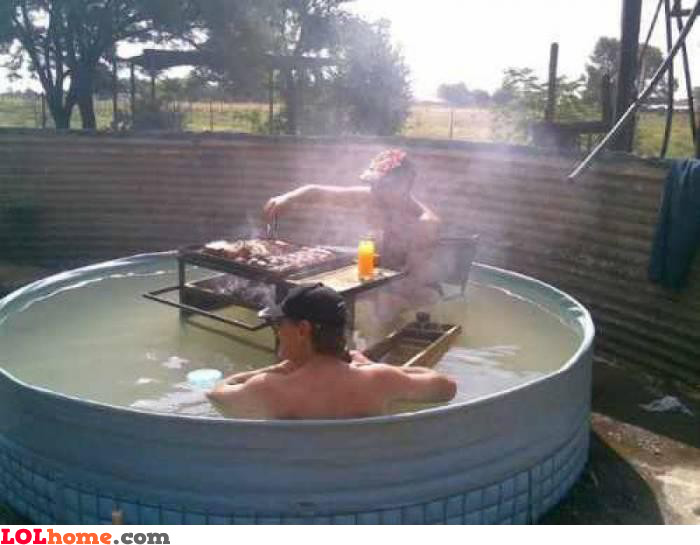 Anyone want some barbecue?