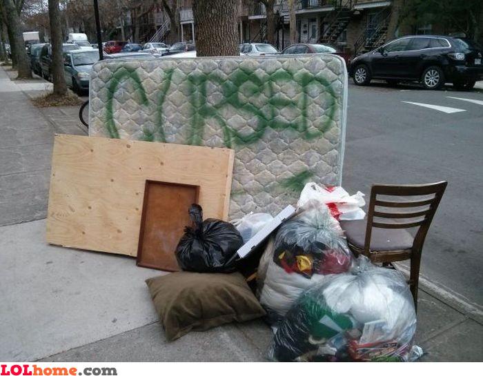 Cursed mattress