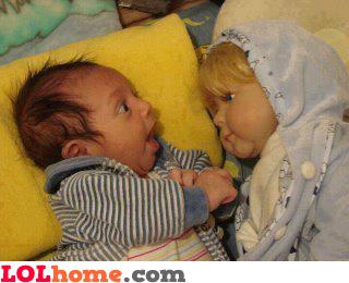 Baby been cloned