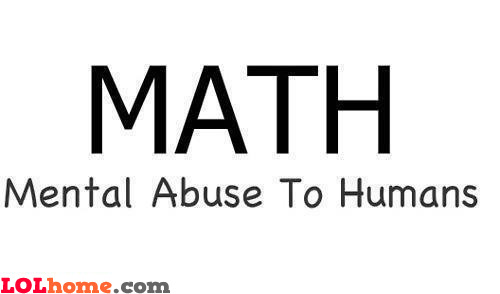 Math Abbreviation