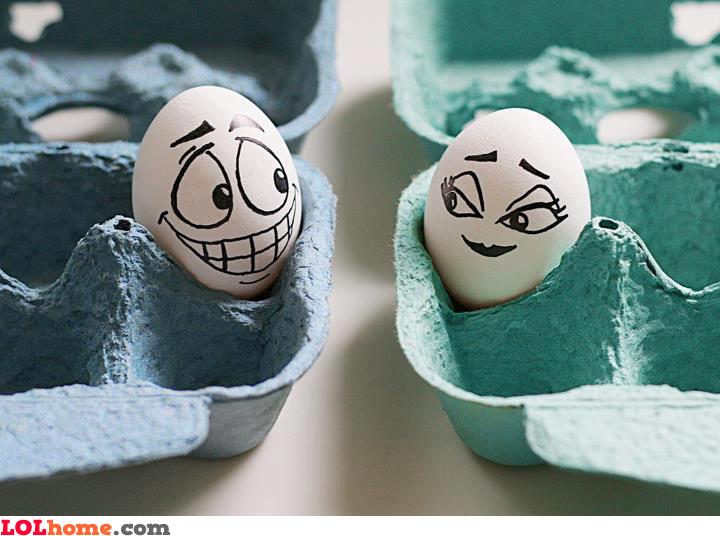 Egg flirt