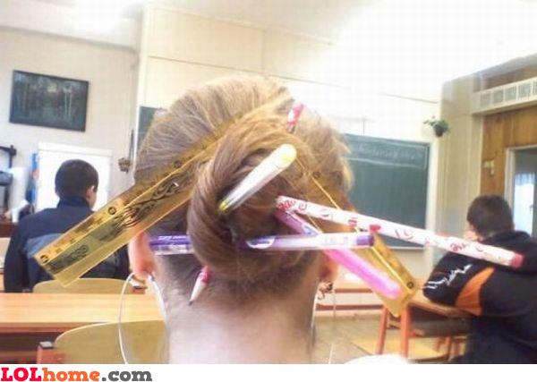 Inventive girl
