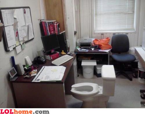 New desk chair