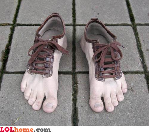 Feet-a-like Shoes