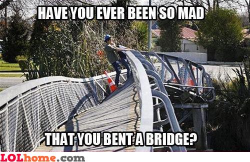 Benting a bridge