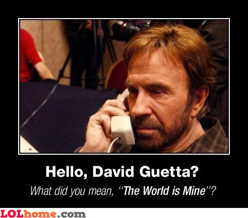 Chuck Norris vs David Guetta