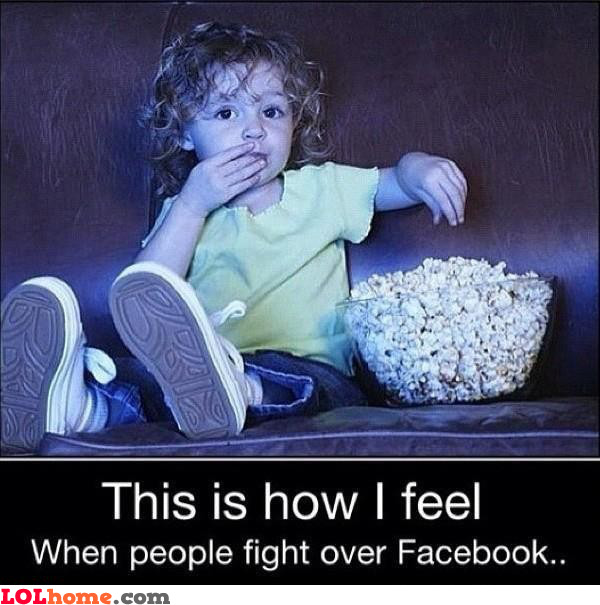 Fighting on Facebook