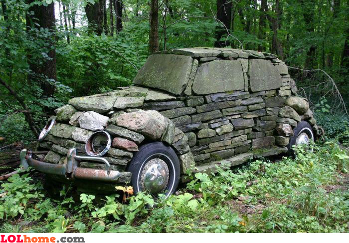 This car rocks