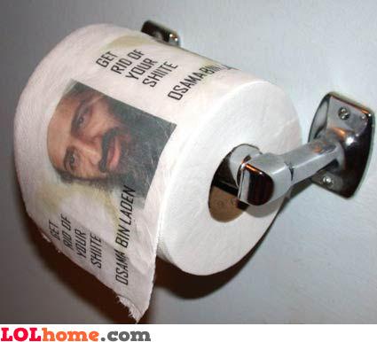 Osama toilet paper