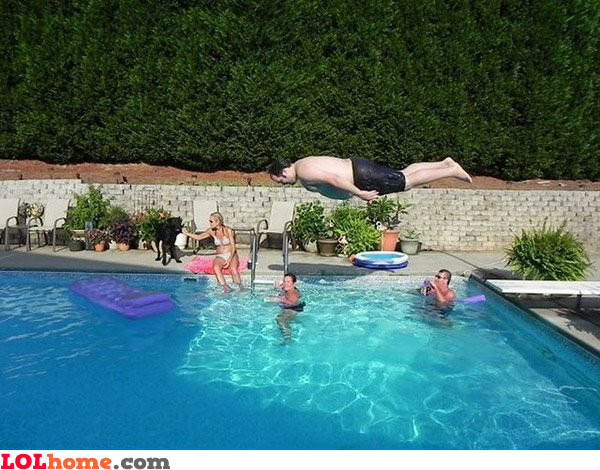 Jumping in planking style