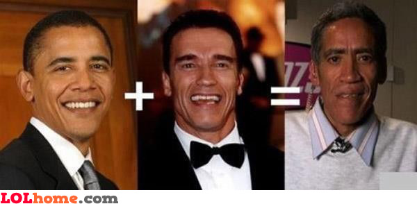 Obama and Schwarzzenegger