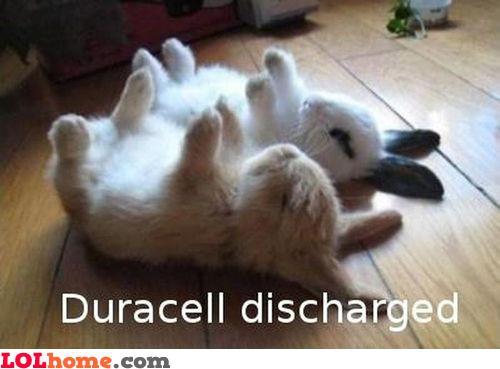 Battery low!