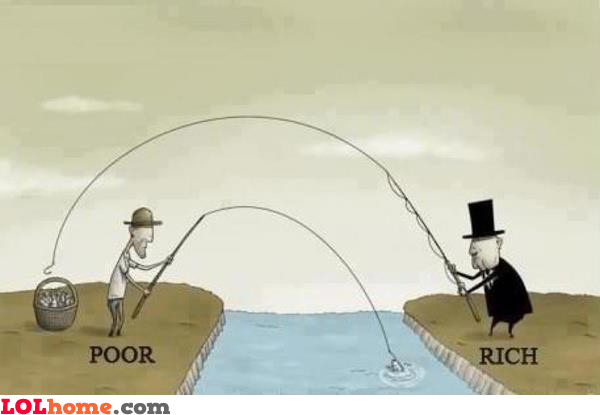 The Poor, The Rich and The Truth