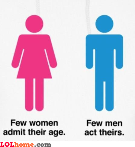 A truth about men and women