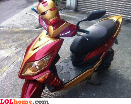 Ironman Scooter
