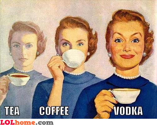 Women and drinks