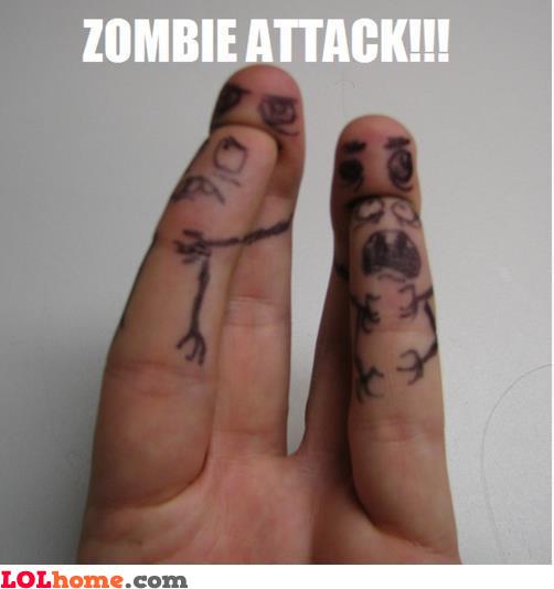 Zombie attack!