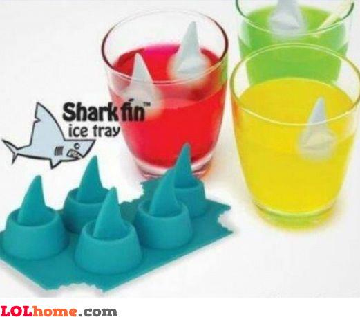 Sharks ice tray