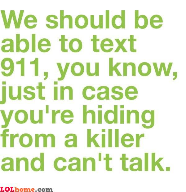 Texting 911