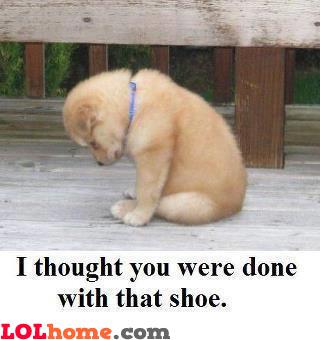 Shoe problems