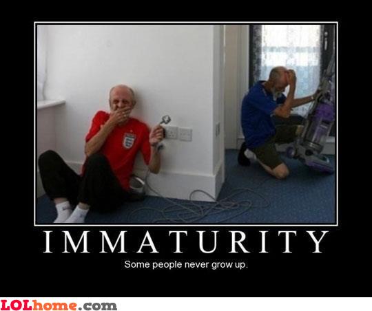 Immaturity