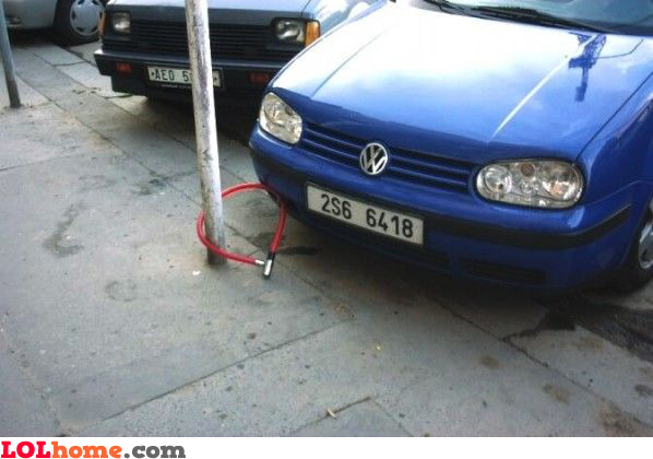 Securing your car
