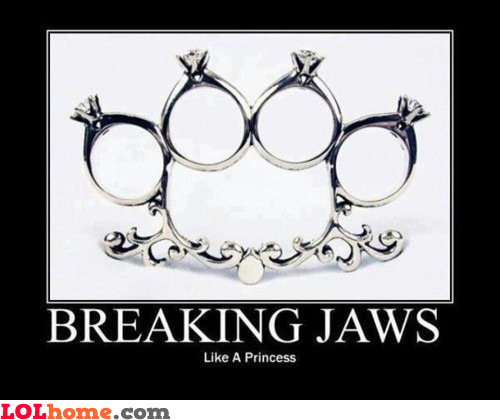 Breaking jaws