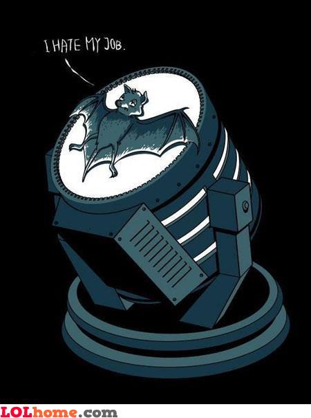 Batman's sign
