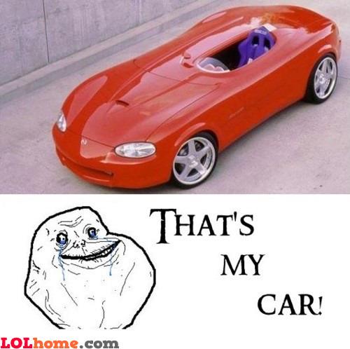 Forever Alone Car