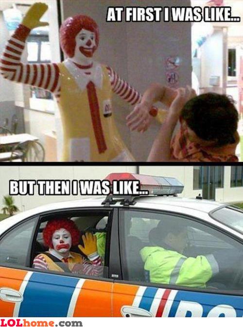 Ronald McDonald Part 2