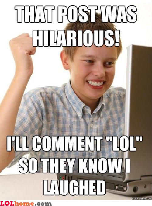 Hilarious Post!