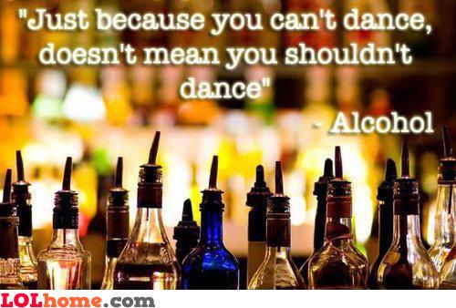 You shall dance!