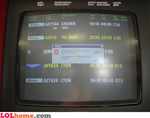 current flights