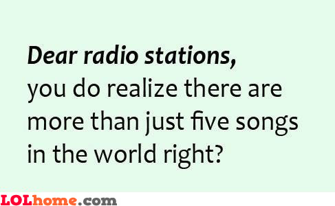 To Radio Stations
