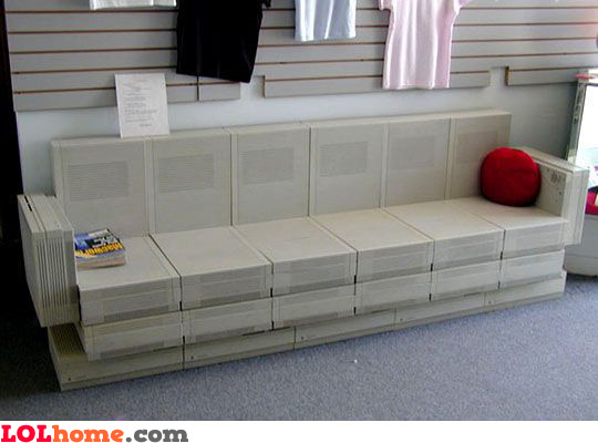 computer couch