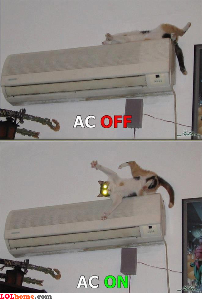 AC on/off