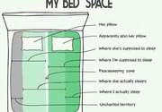 My bed space