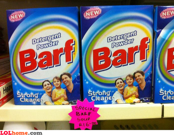 Special Barf