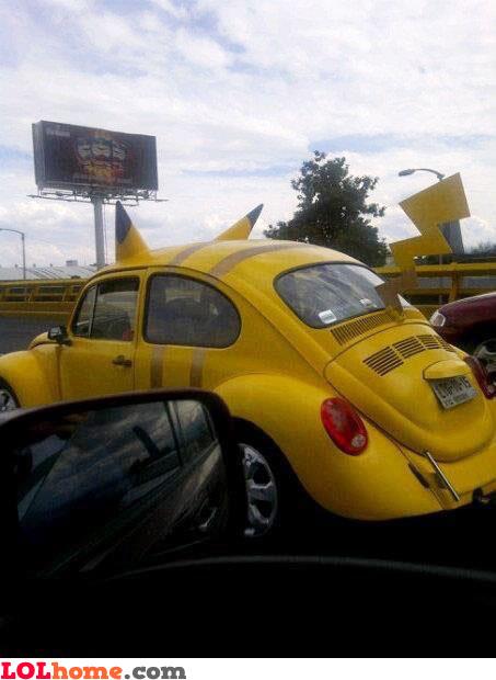 Pokemon's Car
