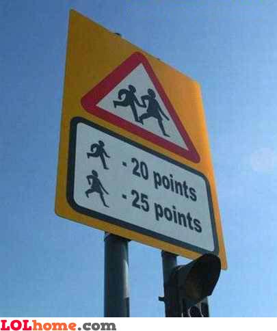 traffic points