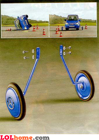 Side wheels