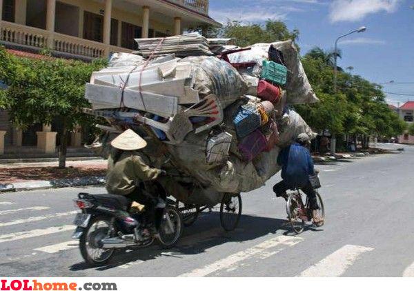 Chineese truck