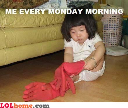 Every single Monday...