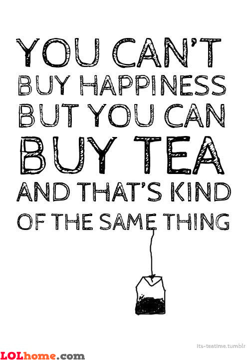 For all the tea people