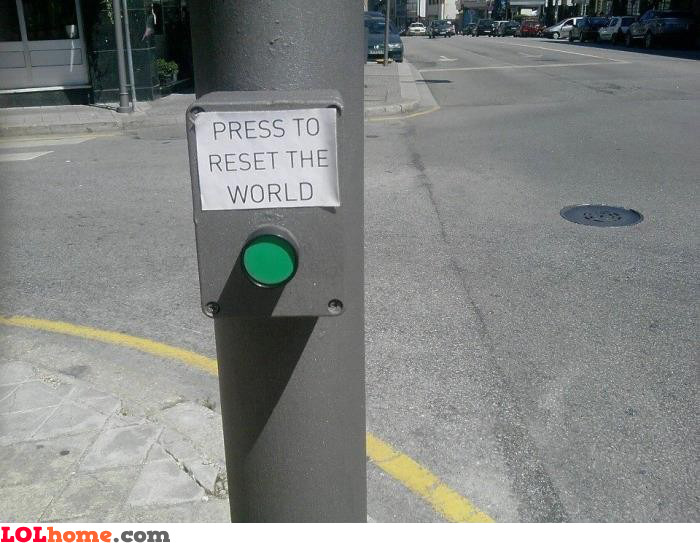 Reset the World