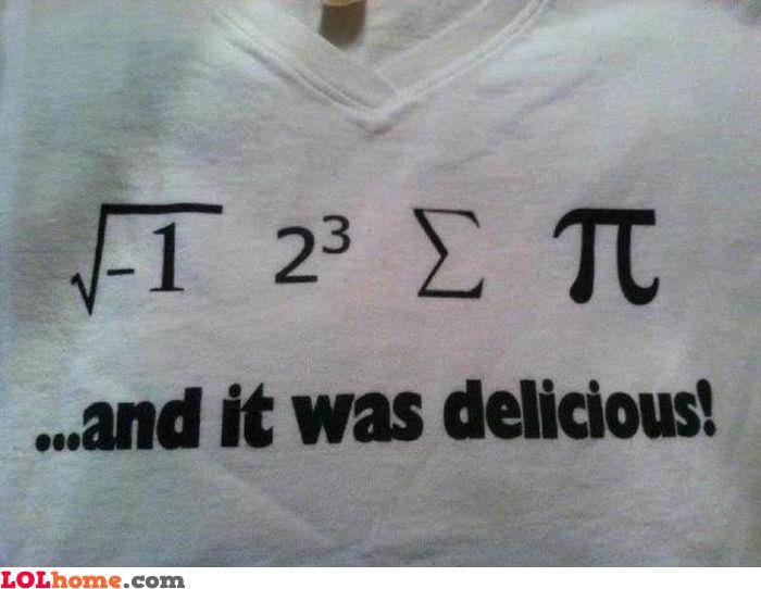 Math is the language
