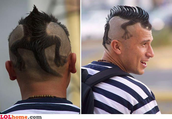 "This is a ""NOT"" haircut. Bad, that looks too bad. Fail... ARGH!"