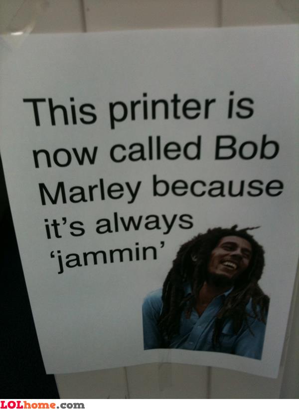 Jammin' Printer