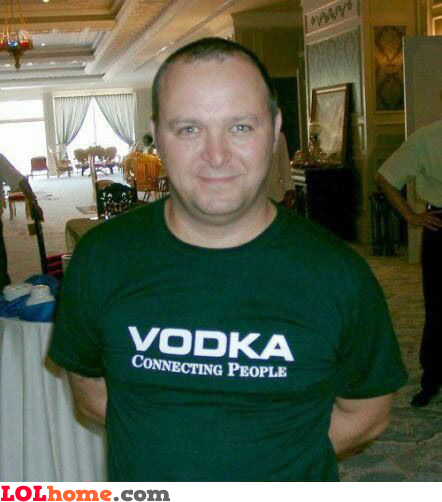 Vodka - connecting people