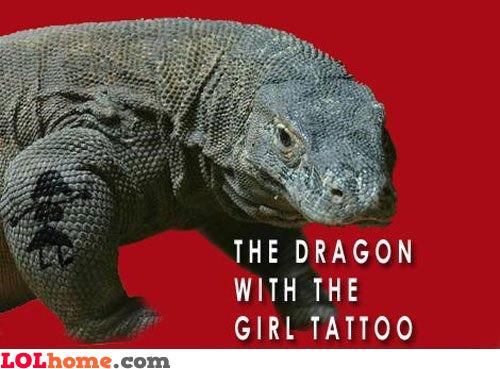 Tattooed Dragon